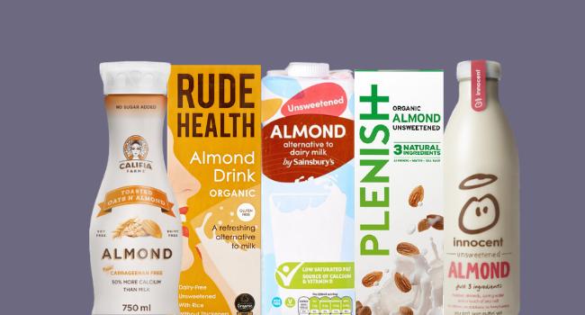 Almond milk brands